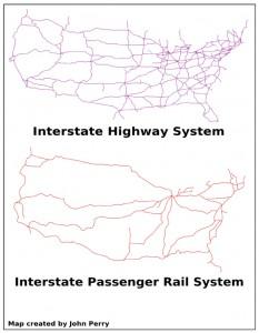 National Highway-Rail Comparison